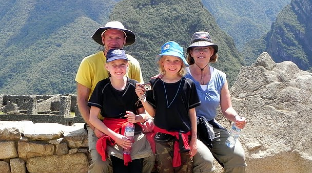 Dutch family explore Peru in between their volunteer work